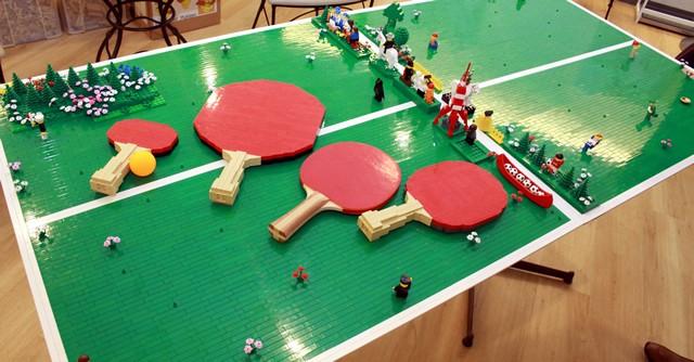 LEGO卓球、素晴らしい出来映えである