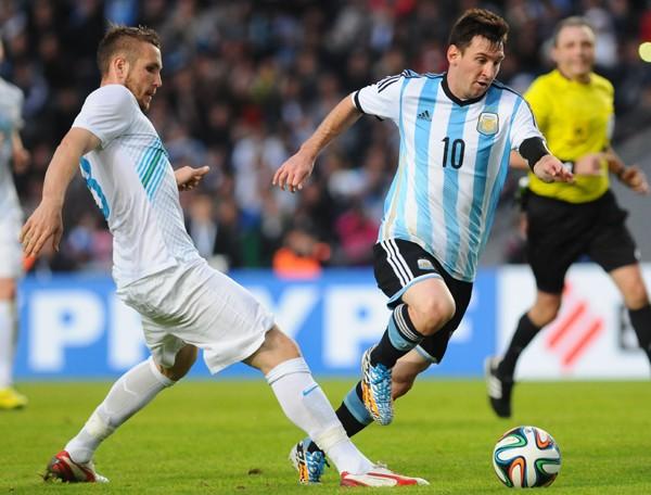 """メッシを中心にすえた""""ファンタスティック4""""でW杯に臨むアルゼンチン"""