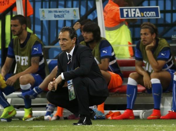 W杯ブラジル大会のグループリーグ初戦、イングランドを2−1で退けたイタリア代表。大会前はプランデッリ監督率いる代表チームに対する悲観論も漂っていた