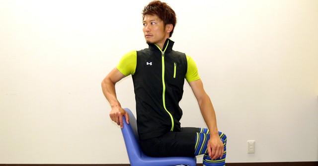 オフィスで簡単エクササイズ(1)腰痛予防は3つの座位運動で