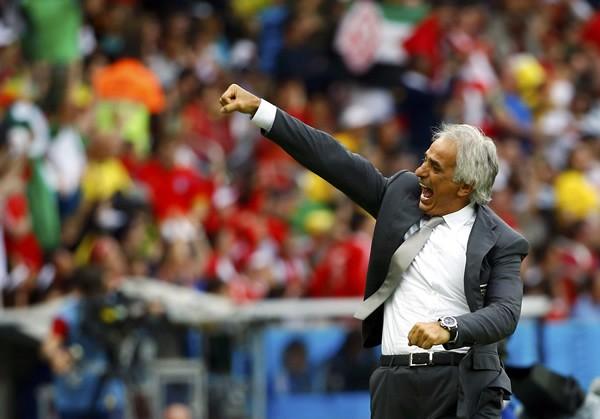 アルジェリア代表監督のバヒド・ハリルホジッチ。選手、監督として輝かしい実績を持つが、これまでのW杯では不運が続いていた