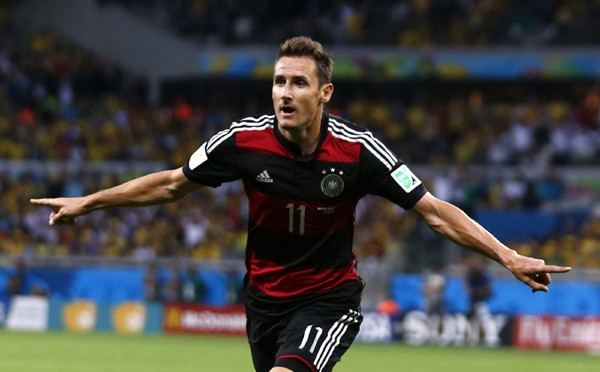 W杯歴代通算最多となる16点目を挙げたクローゼのゴールは、ドイツ代表の攻撃スタイルを象徴するものだった