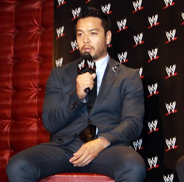 今後は16日に渡米し、WWEの育成施設でトレーニングを積み、下部組織である「NXT」に参戦する