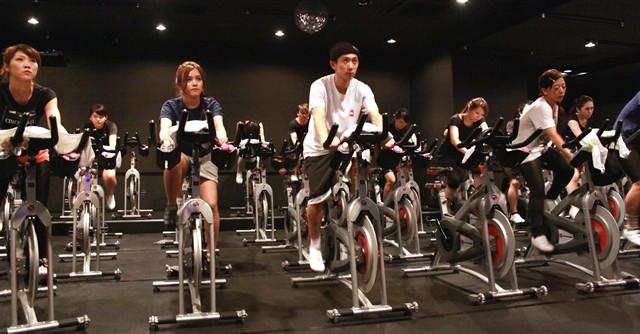 練習パートから結構な運動量、でも本番はココからだ