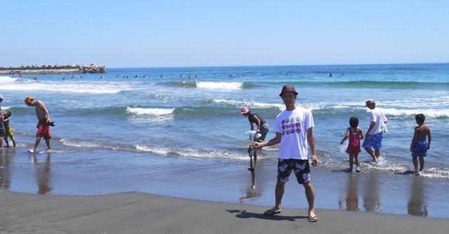 自称2代目スポーツ冒険家・芸部歩人が三たび海にやって来た!