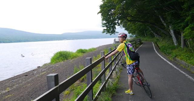 山中湖ぐるり1周自転車の旅 〆はエビ中ライブで「MX!」