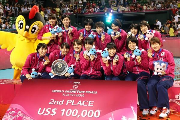 ワールドGPで初の準優勝を果たした全日本女子