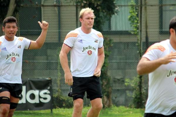 今季からサントリーに加わった元南アフリカ代表のスカルク・バーガー