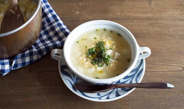 """食べて学ぶからだにいいこと(1) お父さんの味方""""スープ粥"""""""