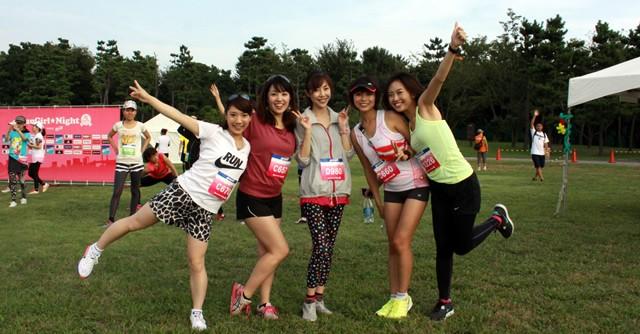 元気いっぱい美女ランナーが大集結! ラン好き女子のお祭り「Rungirl Night」