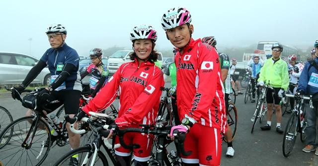 デフリンピック元日本代表の早瀬さんご夫妻は、170キロのレースを完走