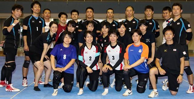 カバディ男女日本代表の選手たち