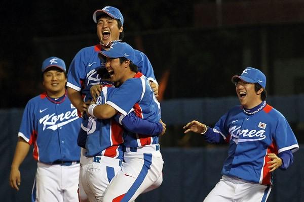 ここまで3戦全勝、無失点と圧倒的な力を見せた韓国。そこには自国開催のみならず、本気になる理由があった(写真は前回・広州アジア大会のもの)