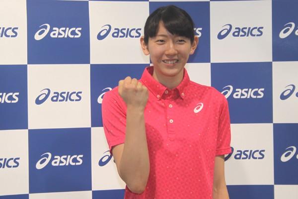 RCカンヌへの移籍について抱負を語った江畑幸子