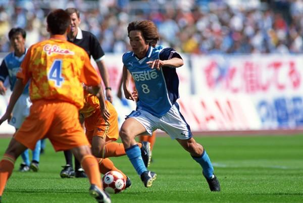 磐田では97年、99年の年間制覇に貢献。黄金期を支えた