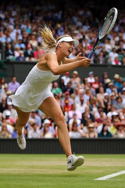 シャラポワは「センターコートへの情熱がある限り、テニスをやり続けたい」と語る