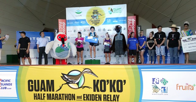 女子総合優勝は兵庫県の上谷聡子さん。1時間23分2秒のタイムで2年連続優勝を飾りました