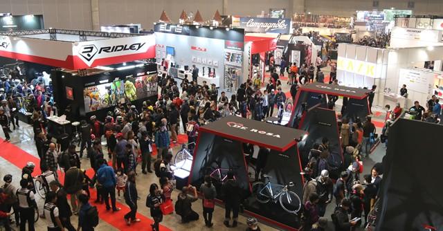 「サイクルモードインターナショナル2014」は午前中から多くの人で賑わっていた