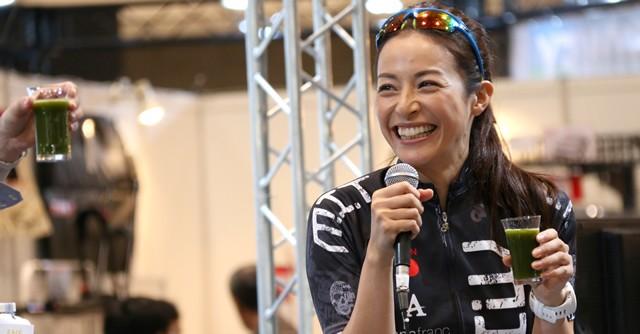 ファッションモデルでありながら趣味のトライアスロンでは世界選手権にも出場する丹羽なほ子さん