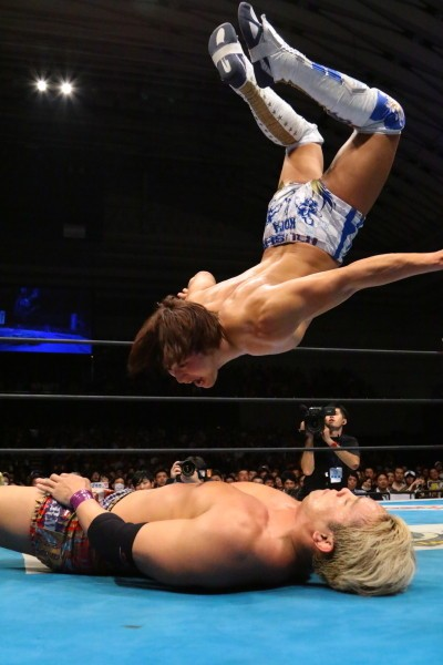 DDT、新日本プロレスで飯伏の身体能力の高さは証明済み。過去には空手トーナメントでも優勝した経験がある