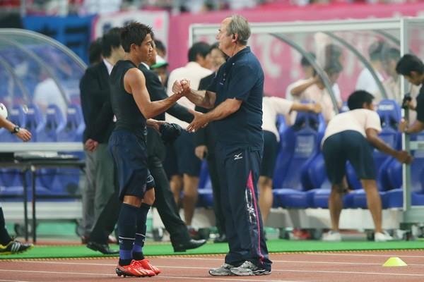 香川(左)を攻撃的MFで起用したように、クルピは選手の資質と適性を見抜く能力がずば抜けている