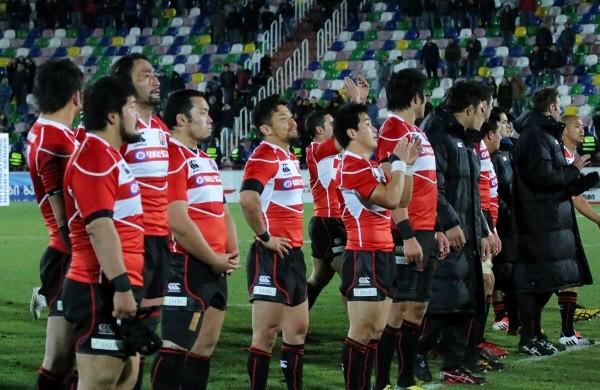 欧州遠征でグルジアに敗れ、テストマッチの連勝が11で止まった日本代表