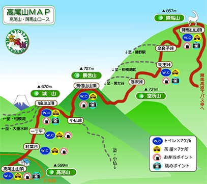 画像提供:高尾山公式ホームページ/高尾登山鉄道株式会社