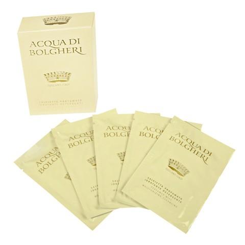 ACQUA DI BOLGHERI GOLD(アクアディボルゲリ ゴールド)パフュームド ワイプス(5シート入) \1,460(税抜)