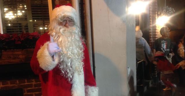 サンタクロースがいた