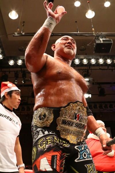 真田の挑戦を退けW−1王座初防衛に成功した武藤