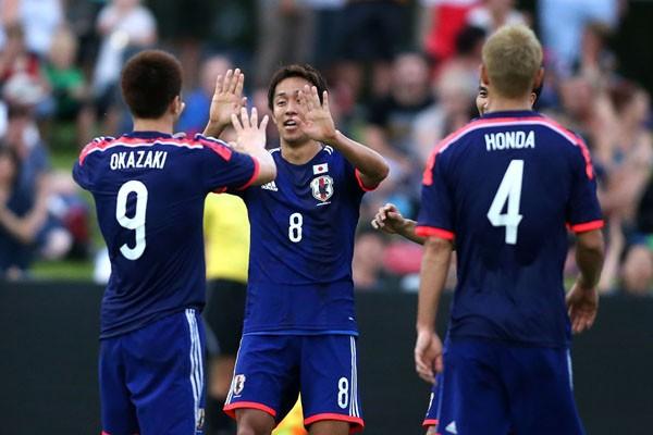 日本代表は4日、オークランドシティとの練習試合を実施。遠藤、岡崎のゴールで2−0と勝利を収めた