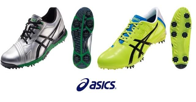 足もとの安定性強化でスイング加速 アシックスのアスリート用ゴルフシューズ
