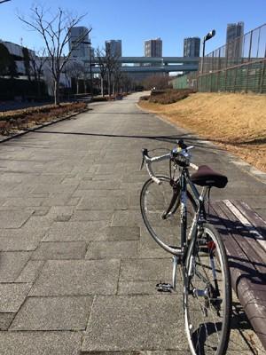 今回は自転車で行ってきました!