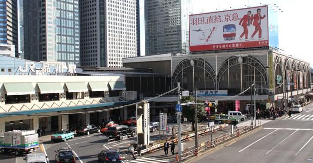 品川駅折り返し地点からの風向き変更に要注意!