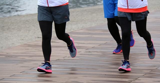 反発性とクッション性……ランナーの足取りも実に軽やかだ