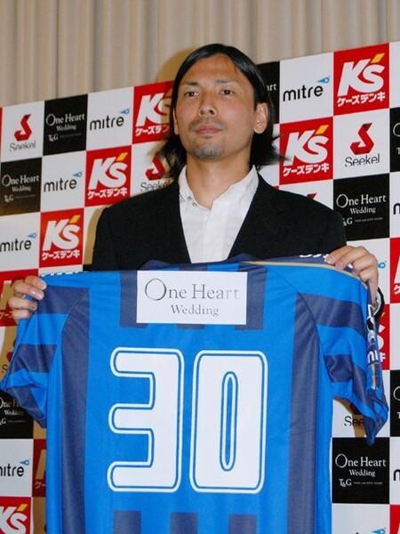 11年に水戸へ加入。鈴木の第二のサッカー人生が始まった