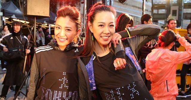(左から)山中美智子、須田朱音