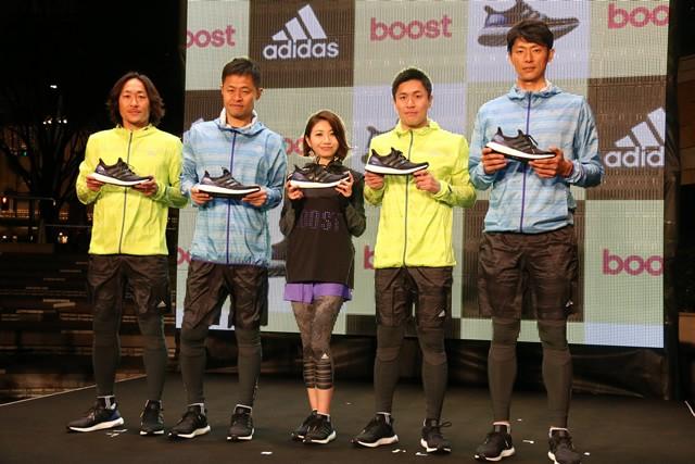 (左から)石川直宏選手、小倉隆史さん、市橋有里さん、大畑大介さん、斉藤和巳さん