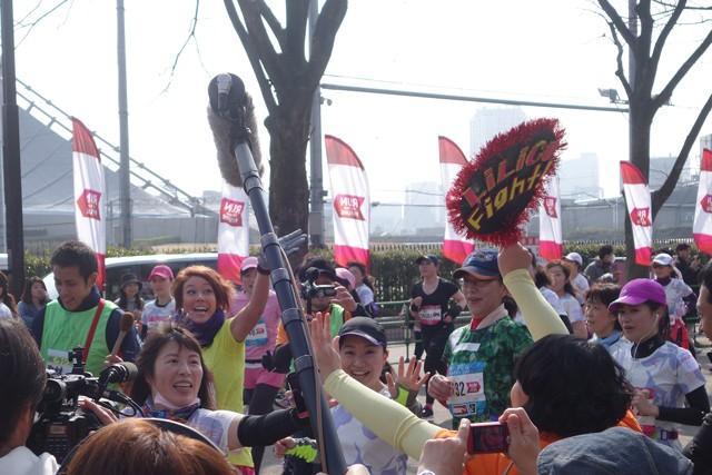 NHK BS1のランニング情報番組『ラン×スマ 〜街の風になれ〜』でナレーションを担当しているLiLiCoさんもレースデビュー!