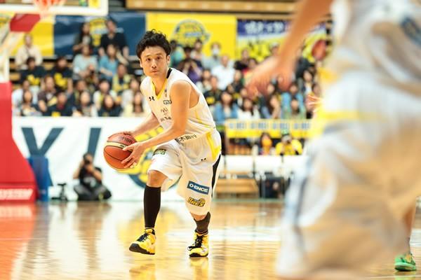 リンク栃木はNBLで観客動員数1位を誇る。体育館設立の話も出ており、新リーグ参加に向けた準備が進んでいる。写真は田臥勇太