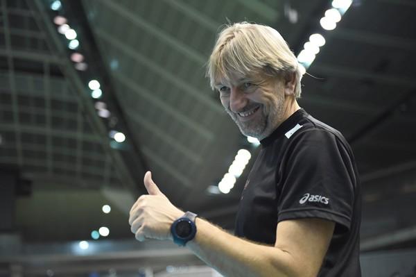 JTをファイナルに導いたヴコヴィッチ監督。男子のトップ3を指揮するのはすべて外国人監督だ