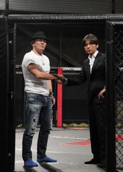 パンクラス・酒井正和社長と創設者である鈴木みのるがパンクラスについて語り合う