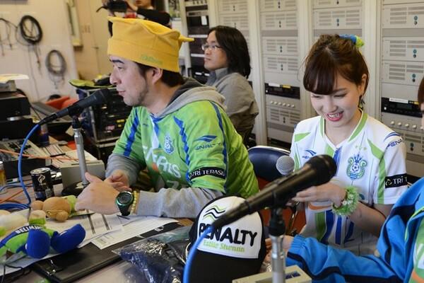 湘南のスタジアムナビゲーターを務めるロンドは、鳥取でのメインナビゲーターも4年間経験した