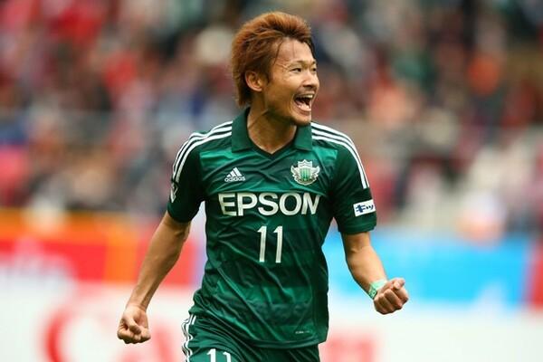 出場停止でG大阪戦に出場できなかった喜山が、6日の甲府戦で得点を挙げた