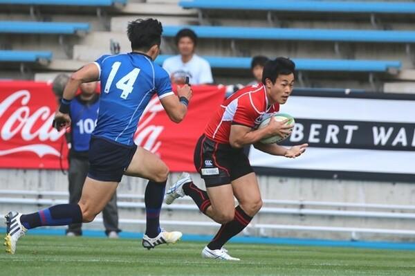韓国戦で3トライを奪った日本代表WTB福岡堅樹