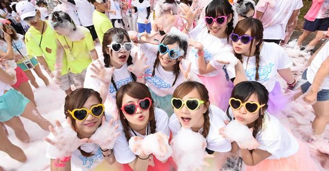 大阪でやるぞ!泡まみれ「バブルラン」 1,000名限定、特典付エントリー28日開始