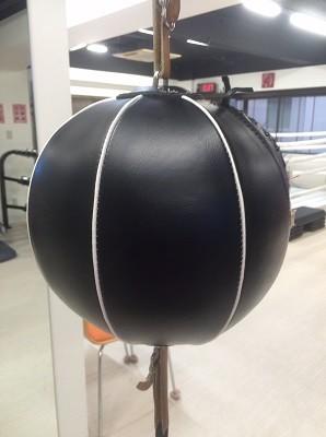 パンチングボールはリズム感やスピードを養うのに最適