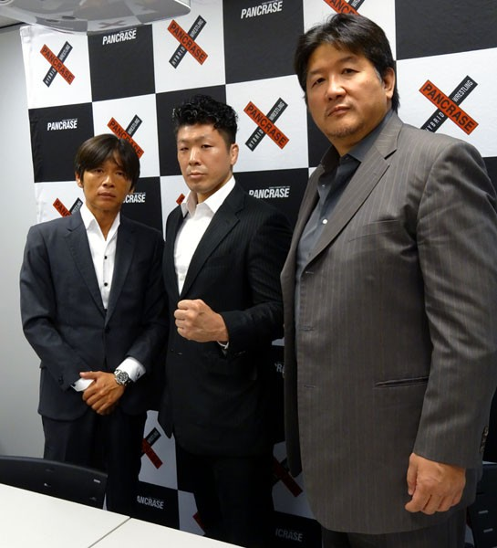 前田日明代表率いるRINGSの三浦広光が8月のパンクラスに参戦