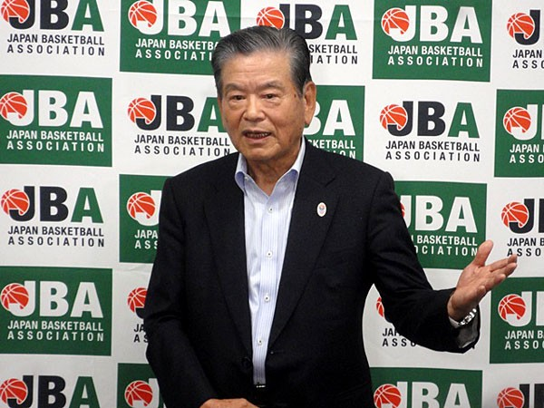 FIBAによる資格停止処分が解除されたことを明かした川淵会長