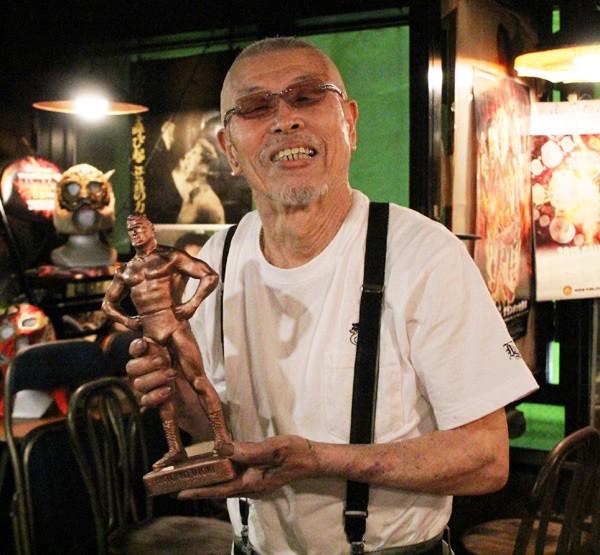 熊本で40年近く猪木ブロンズ像を作り続けてきた村田さん。その原点に迫る